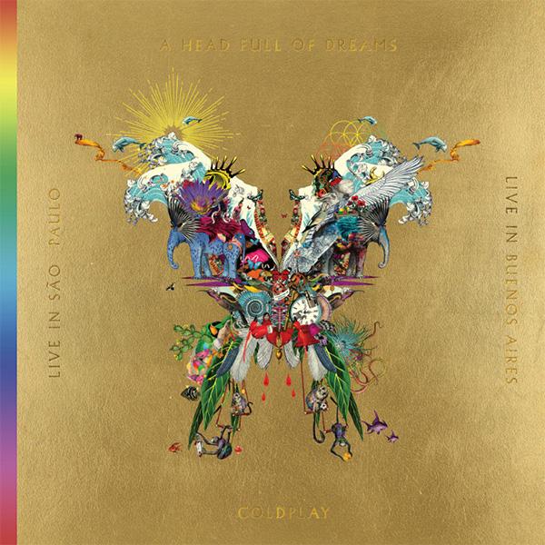 Copertina Vinile 33 giri Live in Buenos Aires / Live In San Paolo  di Coldplay