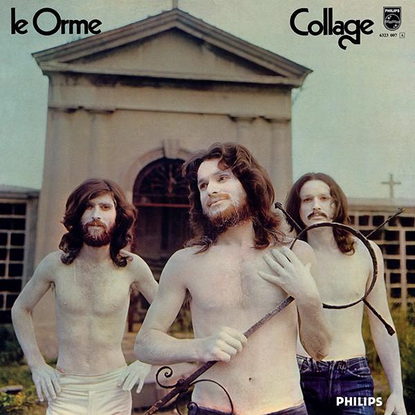 Copertina Disco Vinile 33 giri Collage di Le Orme