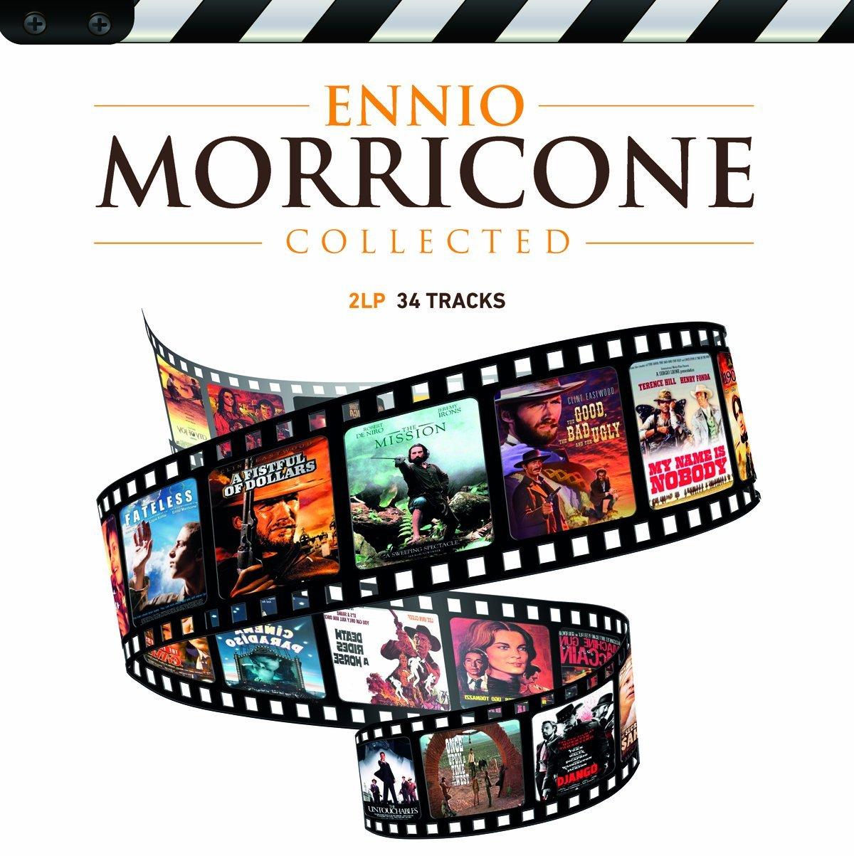Copertina Disco Vinile 33 giri Collected [2 LP] di Ennio Morricone
