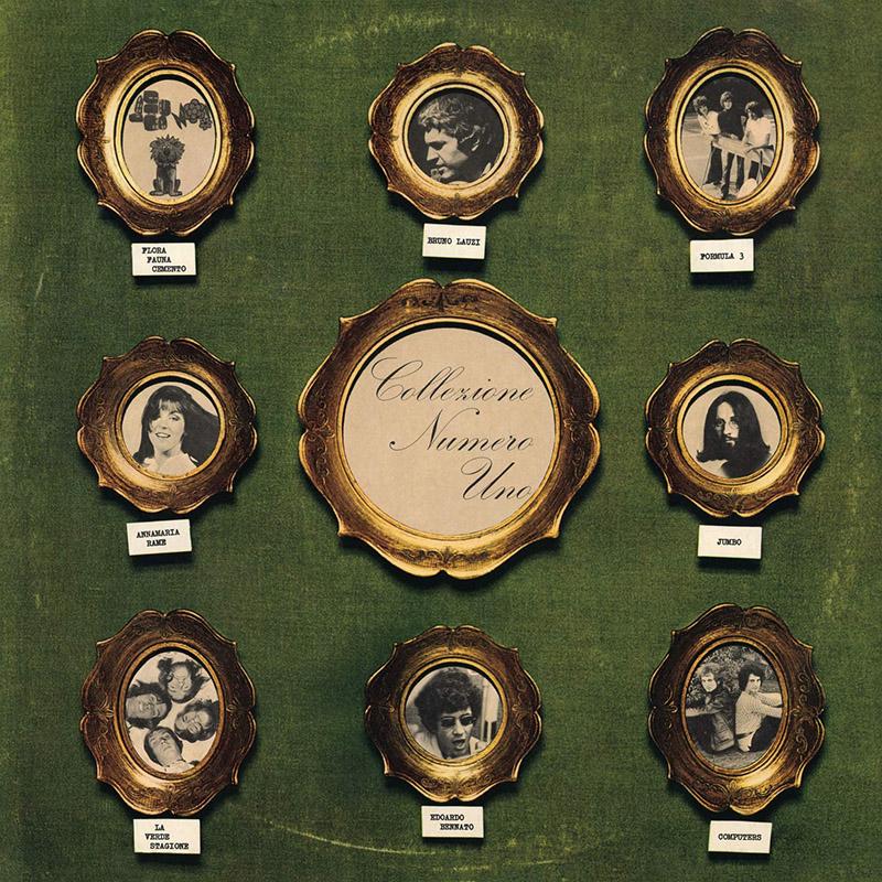 Copertina Vinile 33 giri Collezione Numero Uno di Vari Artisti