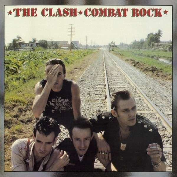 Copertina Disco Vinile 33 giri Combat Rock di The Clash
