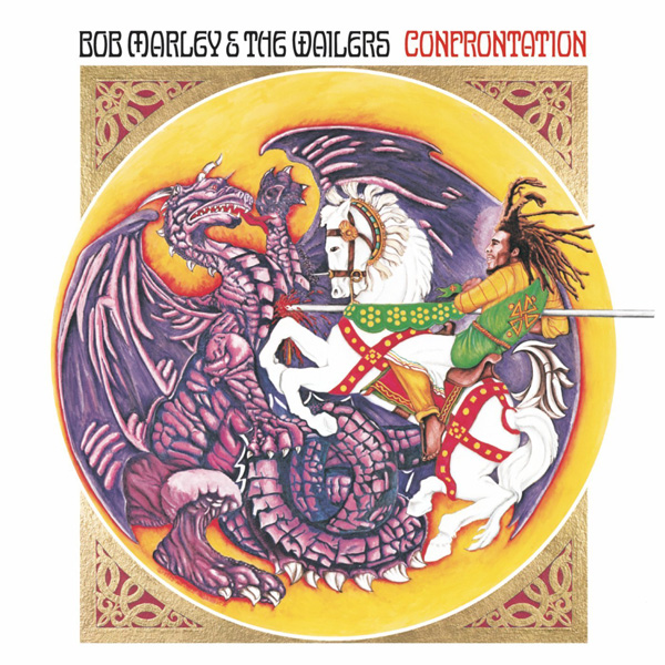 Copertina Disco Vinile 33 giri Confrontation di Bob Marley and The Wailers