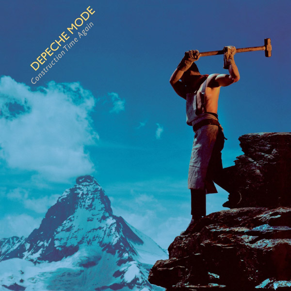Copertina Disco Vinile 33 giri Construction Time Again di Depeche Mode