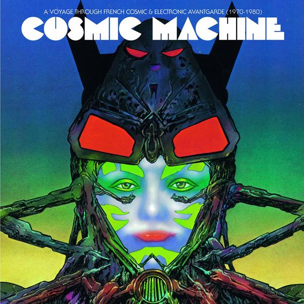 Copertina Disco Vinile 33 giri Cosmic Machine [2 LP] di Vari Artisti