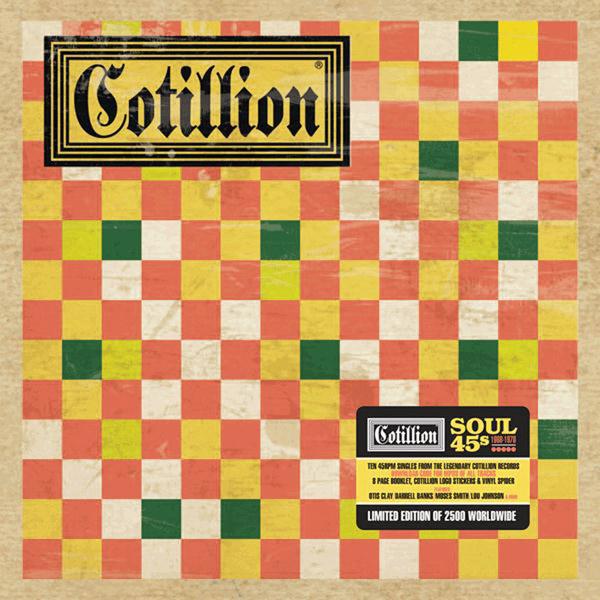 Copertina Disco Vinile 33 giri Cotillion Soul 1968-1970 [Cofanetto 10x45 Giri] di Artisti Vari