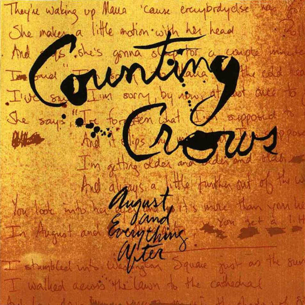 Copertina Vinile 33 giri August and Everything After [2 LP] di Counting Crows