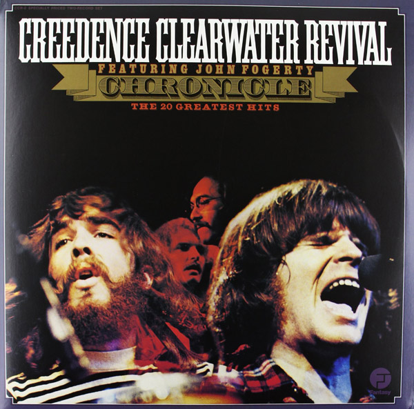 Copertina Disco Vinile 33 giri Chronicle [2 LP] di Creedence Clearwater Revival