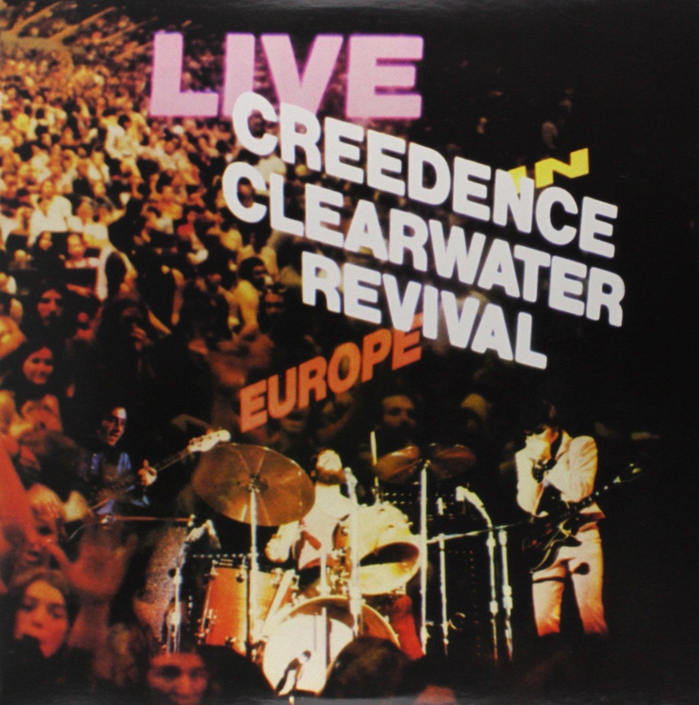 Copertina Disco Vinile 33 giri Live in Europe [2 LP] di Creedence Clearwater Revival
