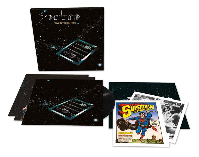 Copertina Disco Vinile 33 giri Crime of the Century | 40° Anniversario di Supertramp