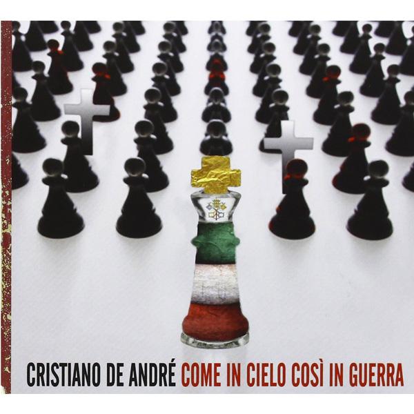 Copertina Disco Vinile 33 giri Come in cielo, così in guerra [CD] di Cristiano De André