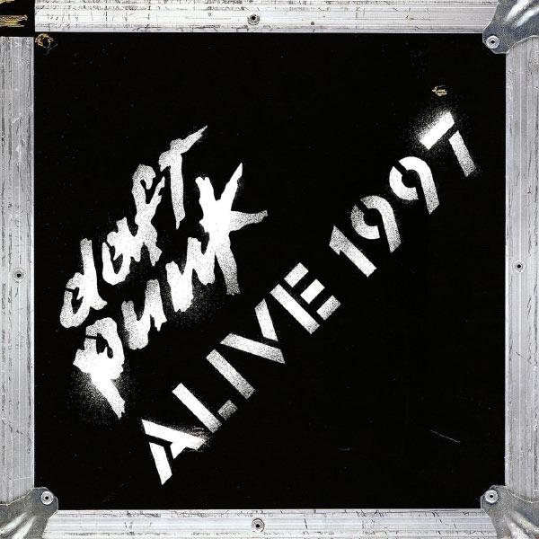 Copertina Disco Vinile 33 giri Alive 1997 di Daft Punk
