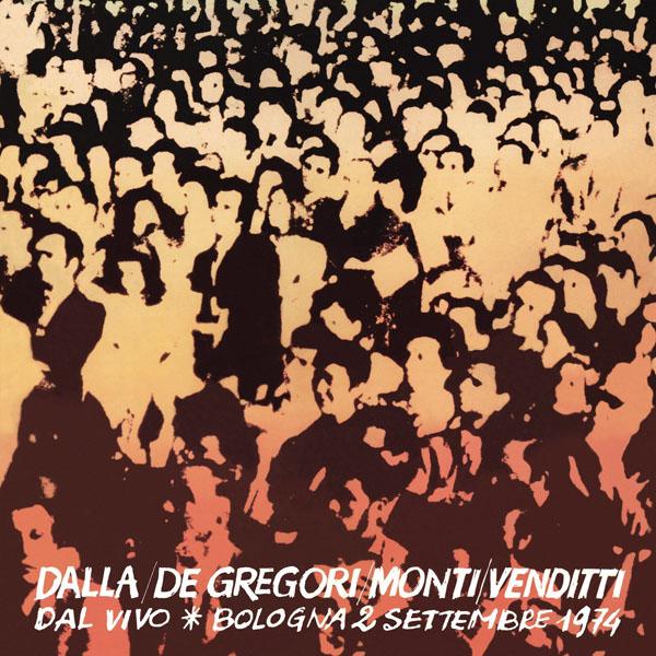 Copertina Vinile 33 giri Dal Vivo - Bologna 2 Settembre 1974 [2 LP] di Dalla