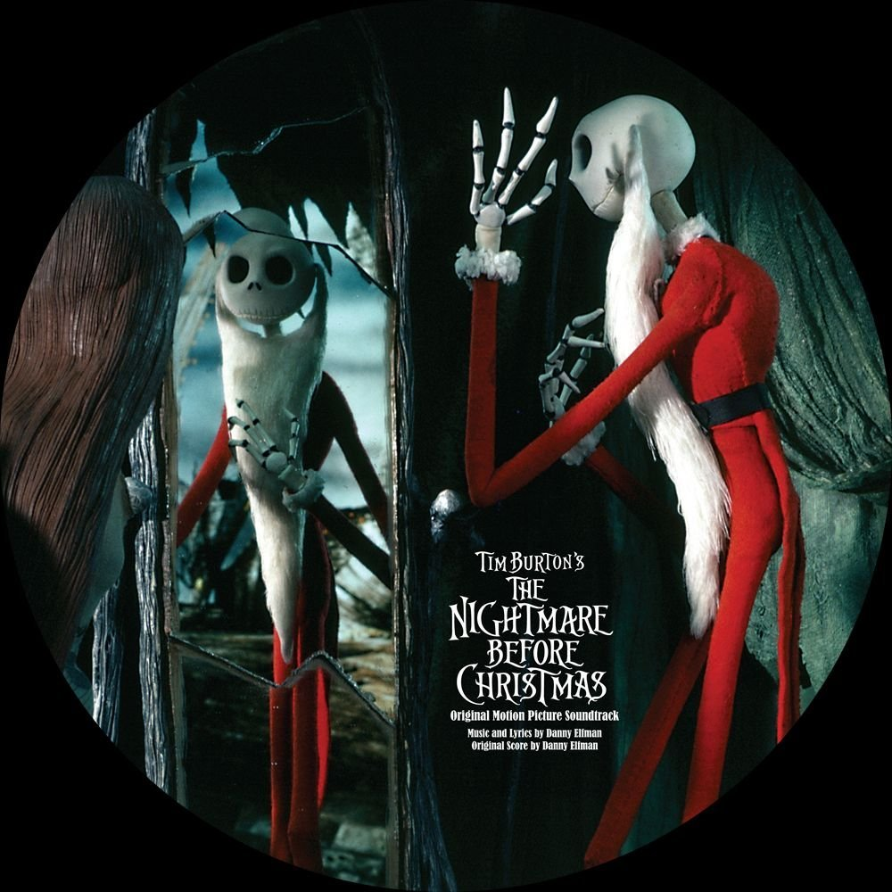 Copertina Disco Vinile 33 giri Nightmare Before Christmas [Soundtrack - 2 LP] di Danny Elfman