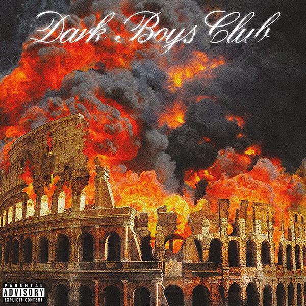 Copertina Vinile 33 giri Dark Boys Club di Dark Polo Gang