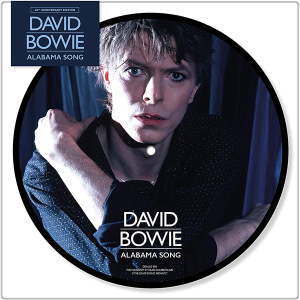 Copertina Vinile 33 giri Alabama Song [Singolo Picture Disc] di David Bowie