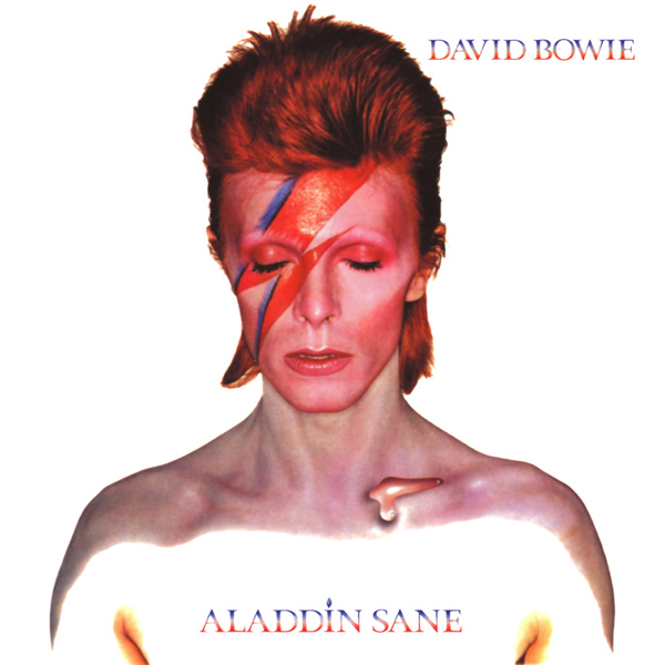 Copertina Disco Vinile 33 giri Aladdin Sane di David Bowie