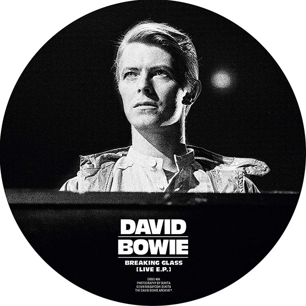 Copertina Vinile 33 giri Breaking Glass (Live E.P.)  di David Bowie