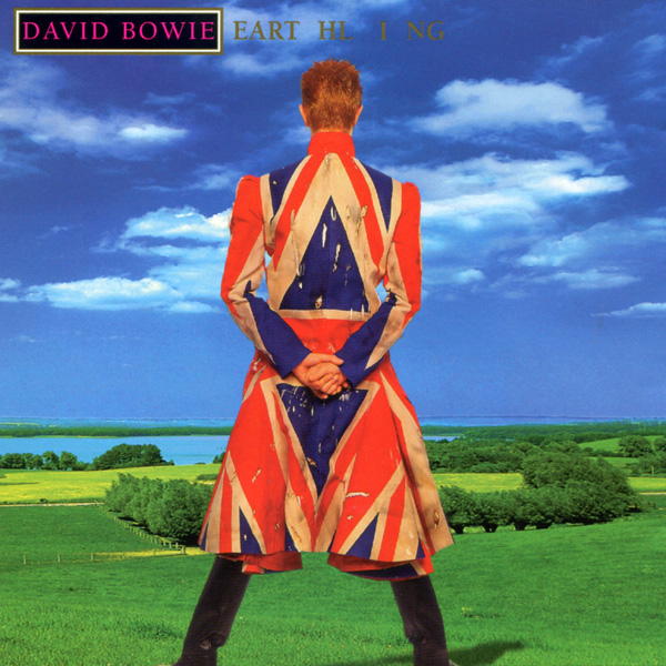 Copertina Disco Vinile 33 giri Earthling  di David Bowie