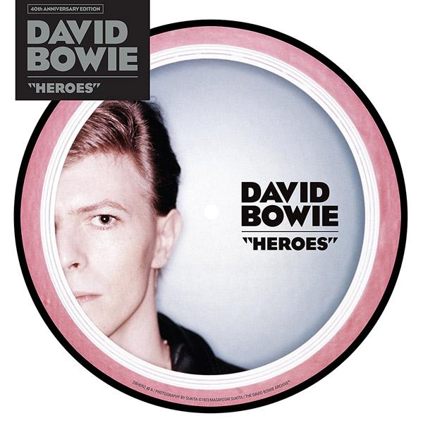 "Copertina Vinile 33 giri Heroes [Singolo Picture Disc 7""] di David Bowie"