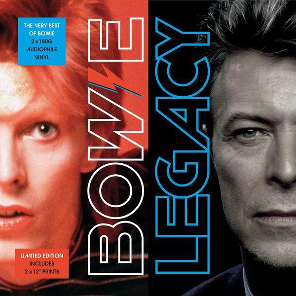 Copertina Disco Vinile 33 giri Bowie Legacy [2 LP] di David Bowie