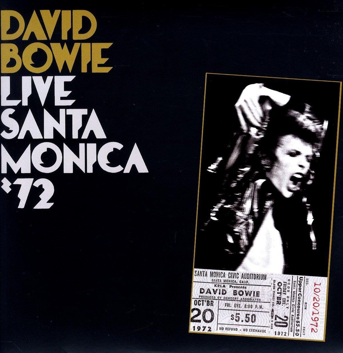 Copertina Disco Vinile 33 giri Live Santa Monica '72 [2 LP] di David Bowie