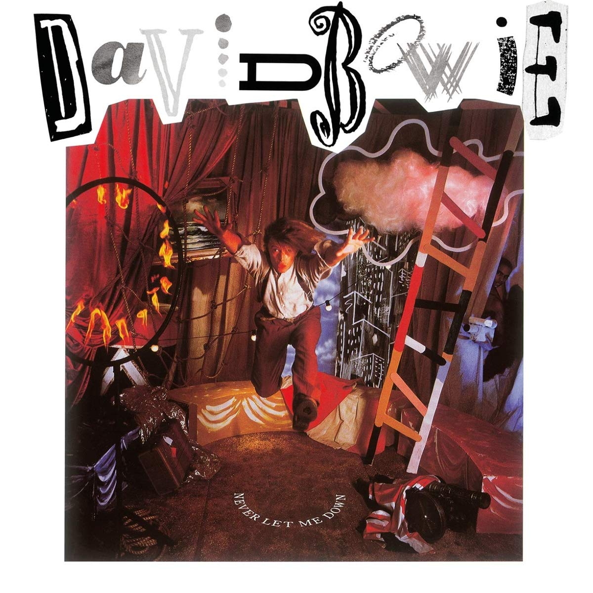 Copertina Vinile 33 giri Never Let Me Down di David Bowie
