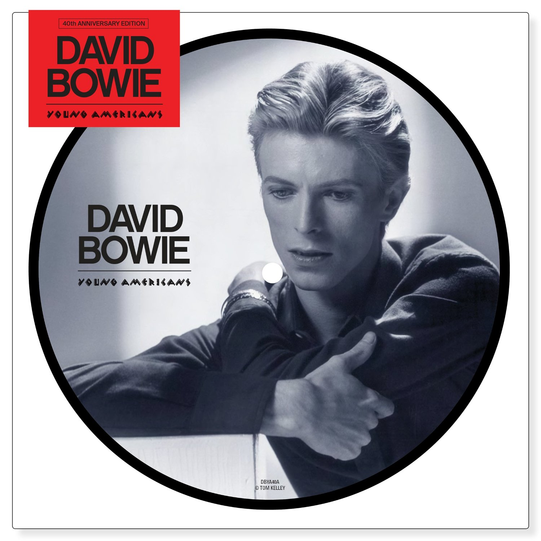 """Copertina Disco Vinile 33 giri Young Americans [Singolo Picture Disc 7""""] di David Bowie"""