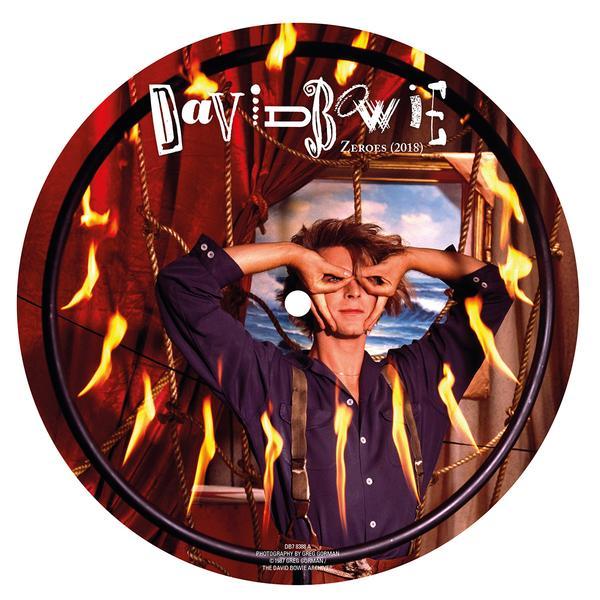 Copertina Vinile 33 giri Zeroes [Singolo Picture Disc] di David Bowie