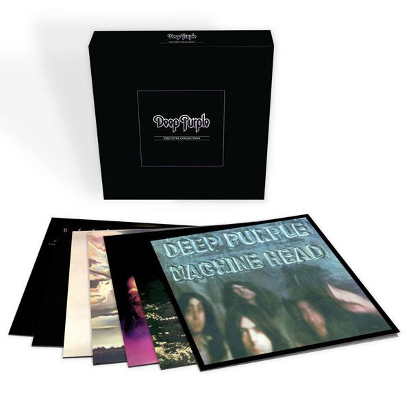 Copertina Disco Vinile 33 giri The Vinyl Collection [Cofanetto 7xLP] di Deep Purple
