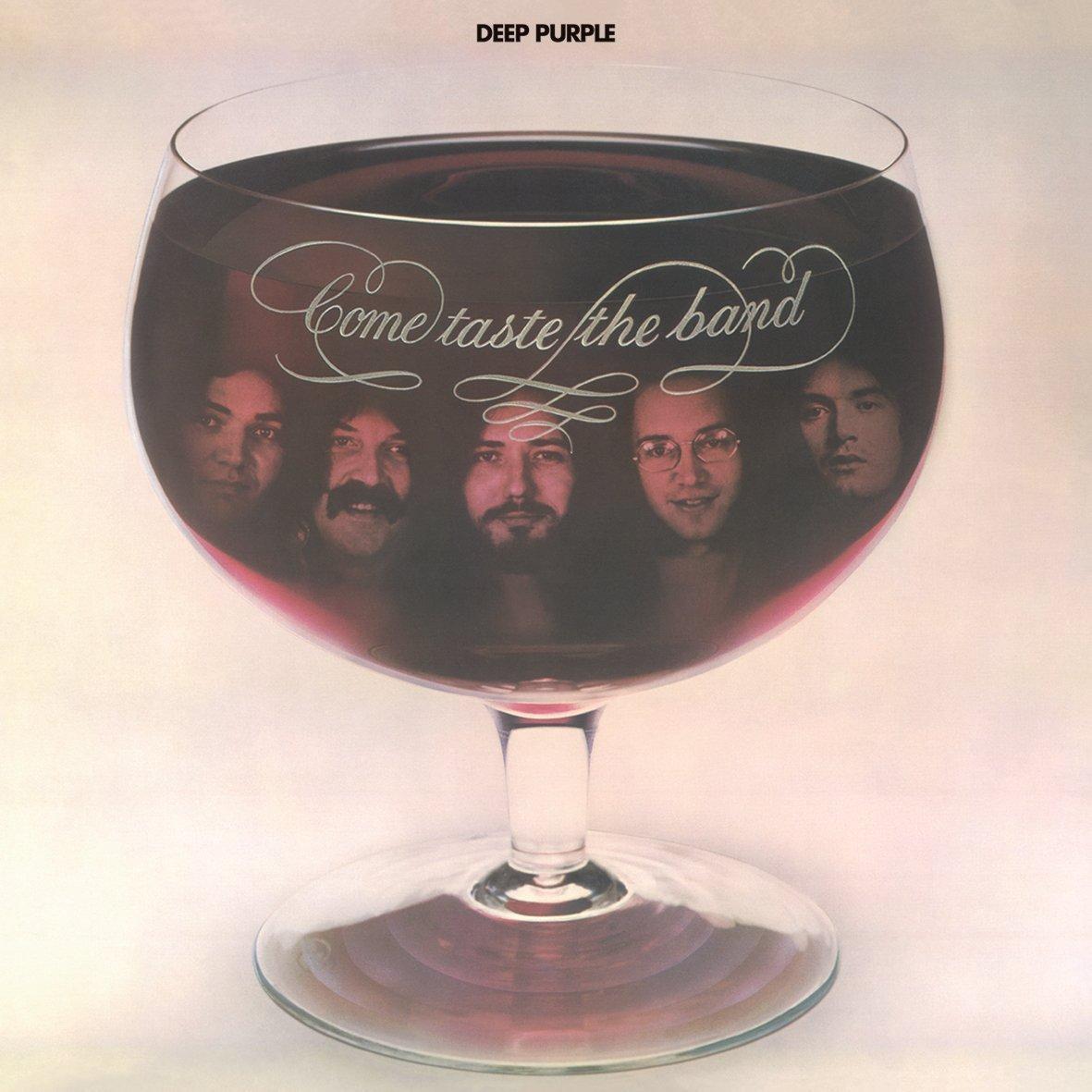 Copertina Disco Vinile 33 giri Come Taste the Band  di Deep Purple