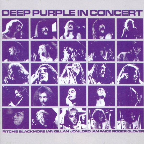 Copertina Disco Vinile 33 giri In Concert '72 [3 LP] di Deep Purple