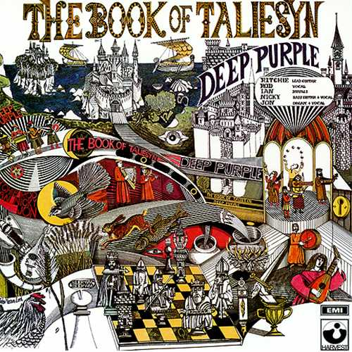 Copertina Vinile 33 giri The Book of Taliesyn di Deep Purple