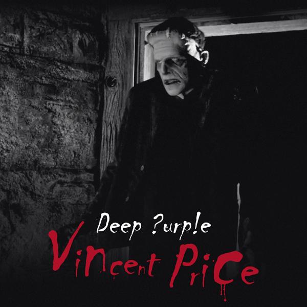 """Copertina Disco Vinile 33 giri Vincent Price [Singolo 7"""" Trasparente 45Giri] di Deep Purple"""