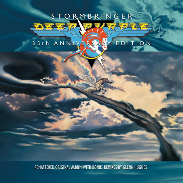 Copertina Disco Vinile 33 giri Stormbringer di Deep Purple
