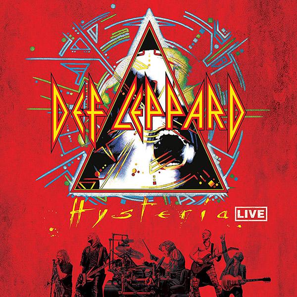Copertina Vinile 33 giri Hysteria Live [2 LP] di Def Leppard