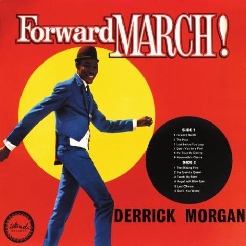 Copertina Disco Vinile 33 giri Forward March di Derrick Morgan