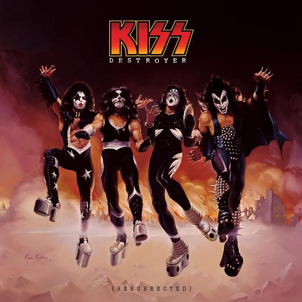 Copertina Disco Vinile 33 giri Destroyer: Resurrected di Kiss