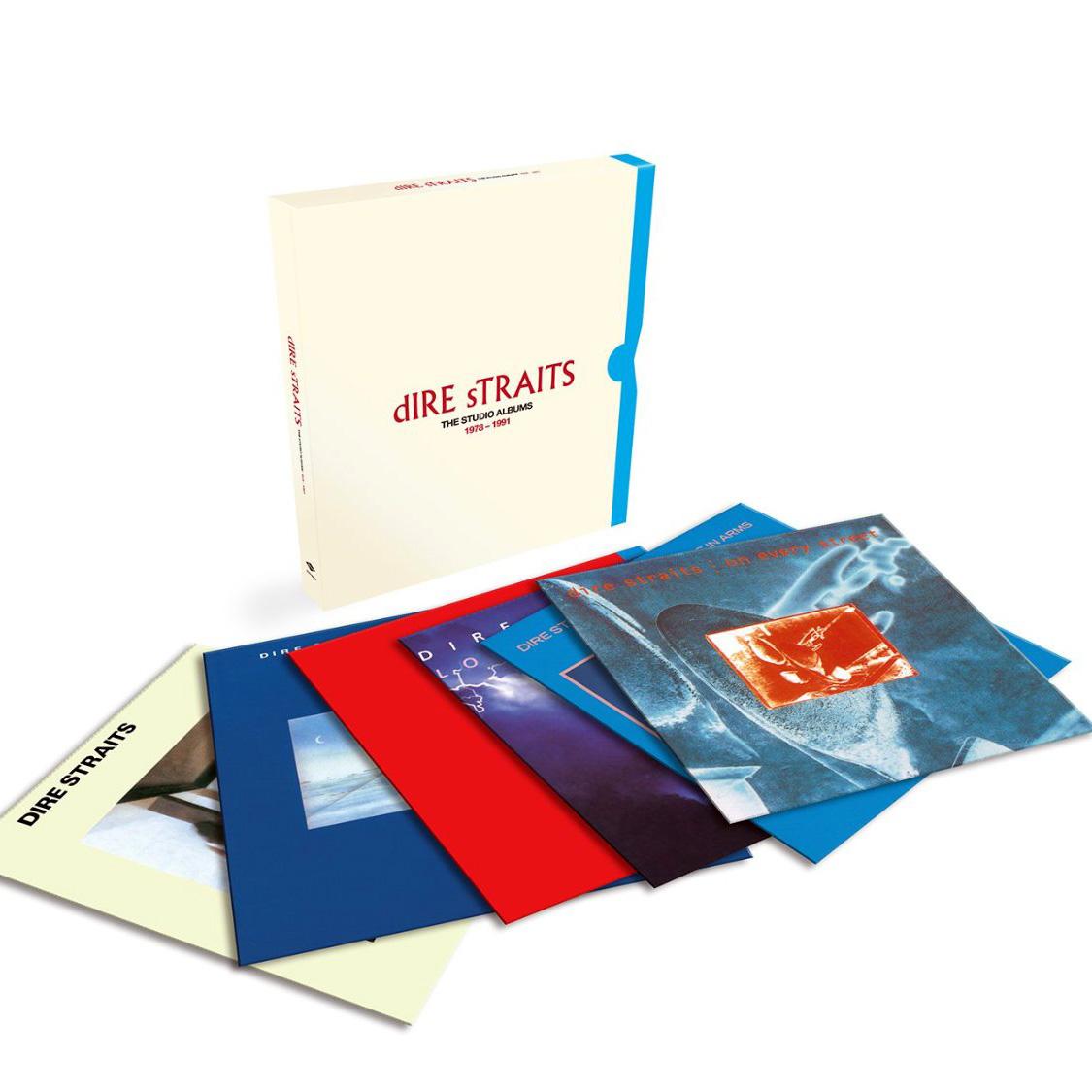 Copertina Disco Vinile 33 giri Dire Straits: The Complete Studio Albums 1978-1991 di Dire Straits