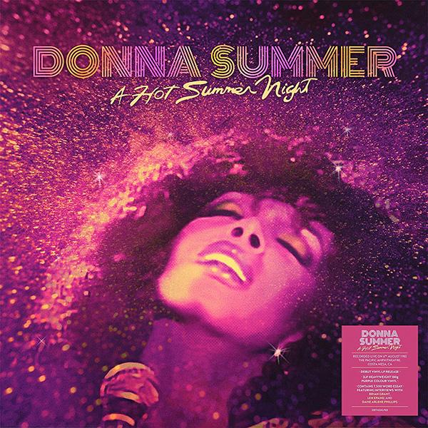 Copertina Vinile 33 giri Hot Summer Night di Donna Summer