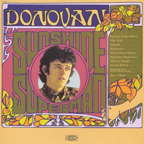Copertina Disco Vinile 33 giri Sunshine Superman di Donovan