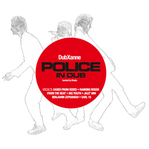 Copertina Disco Vinile 33 giri Police in Dub [LP+2CD] di Dubxanne