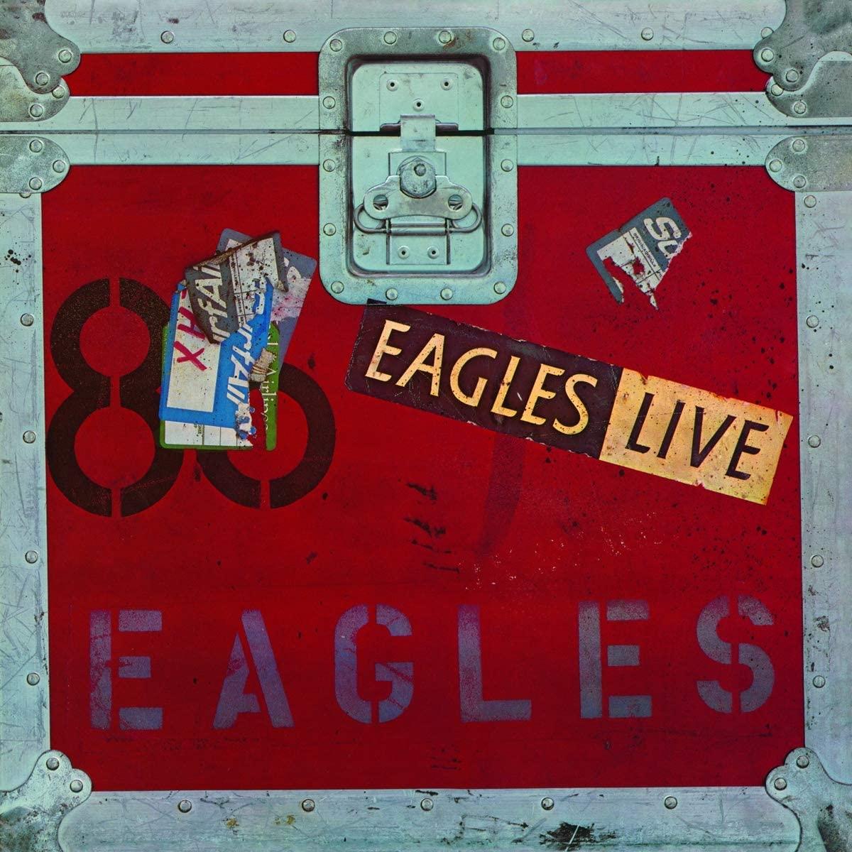 Copertina Vinile 33 giri Eagles Live [2 LP] di Eagles