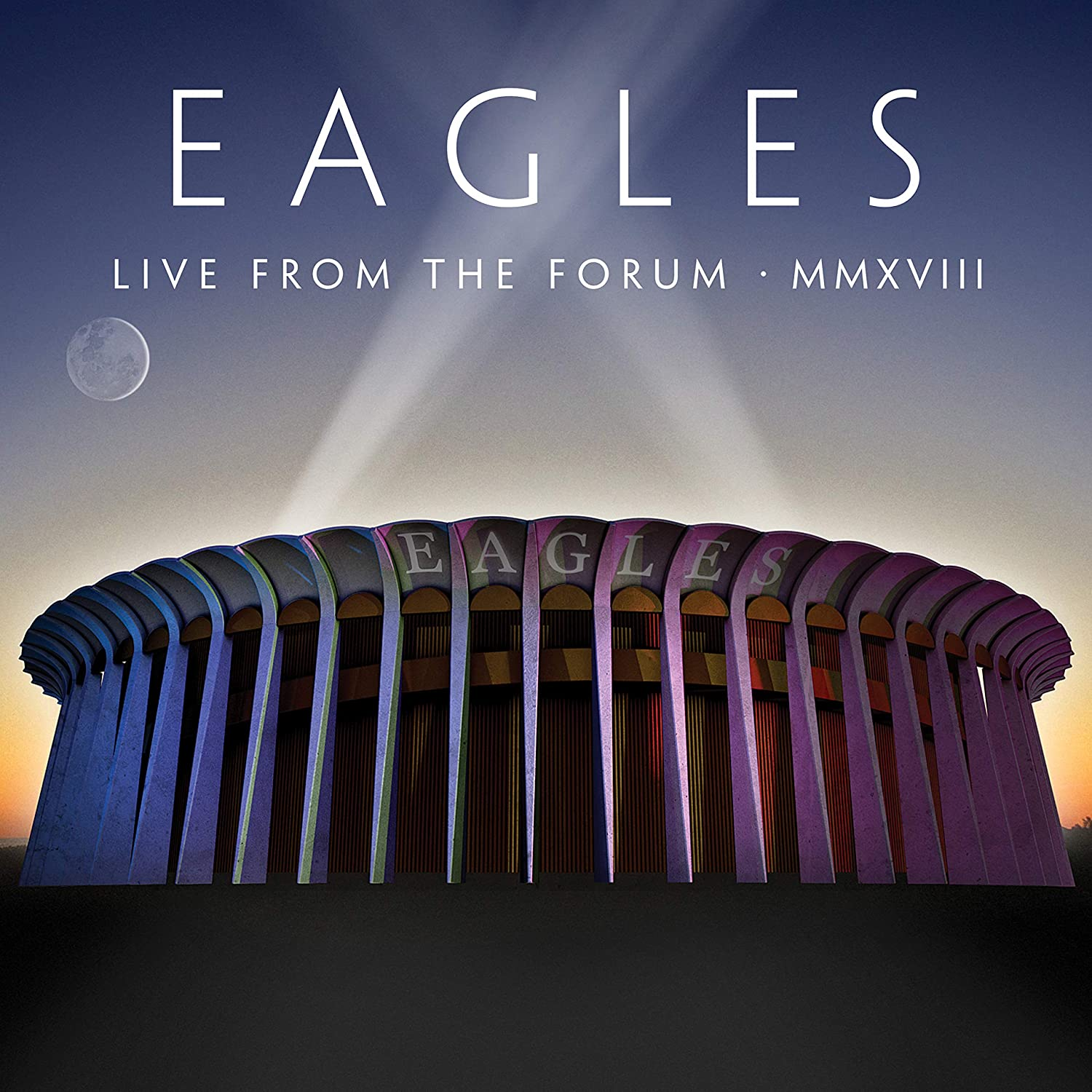 Copertina Vinile 33 giri Live from the Forum Mmxviii [4 LP] di Eagles