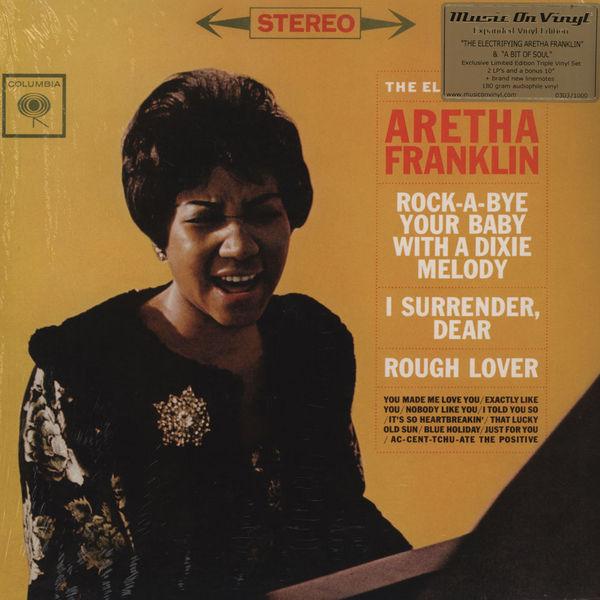 Copertina Disco Vinile 33 giri The Electrifying Aretha di Aretha Franklin