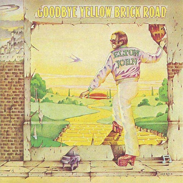 Copertina Disco Vinile 33 giri Goodbye Yellow Brick Road [2 LP] di Elton John