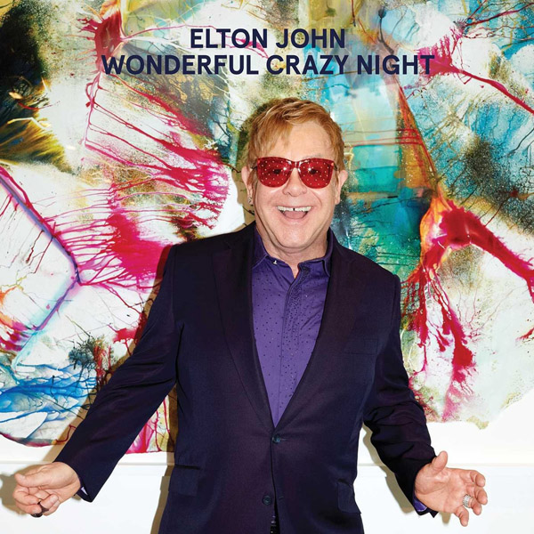 Copertina Disco Vinile 33 giri Wonderful Crazy Night di Elton John