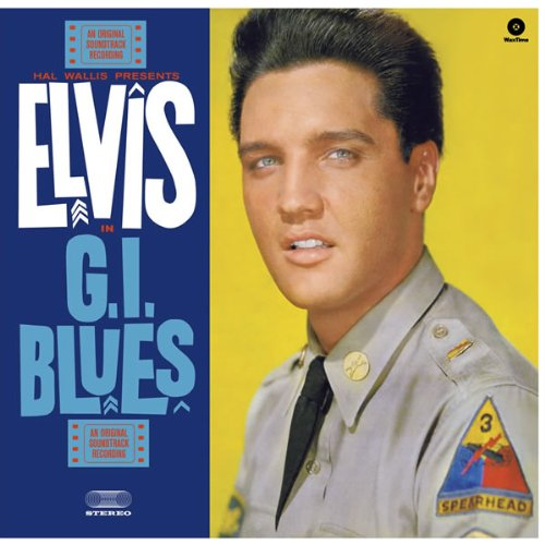 Copertina Disco Vinile 33 giri G.I.Blues di Elvis Presley