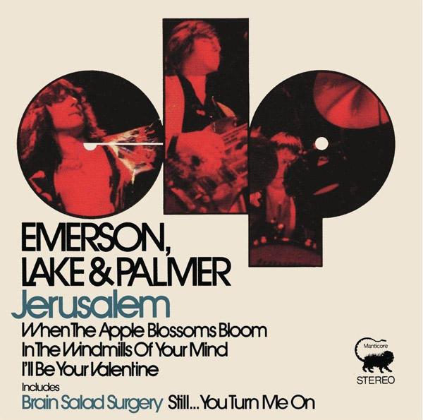 Copertina Disco Vinile 33 giri Jerusalem [Singolo 45 Giri] di Emerson, Lake & Palmer