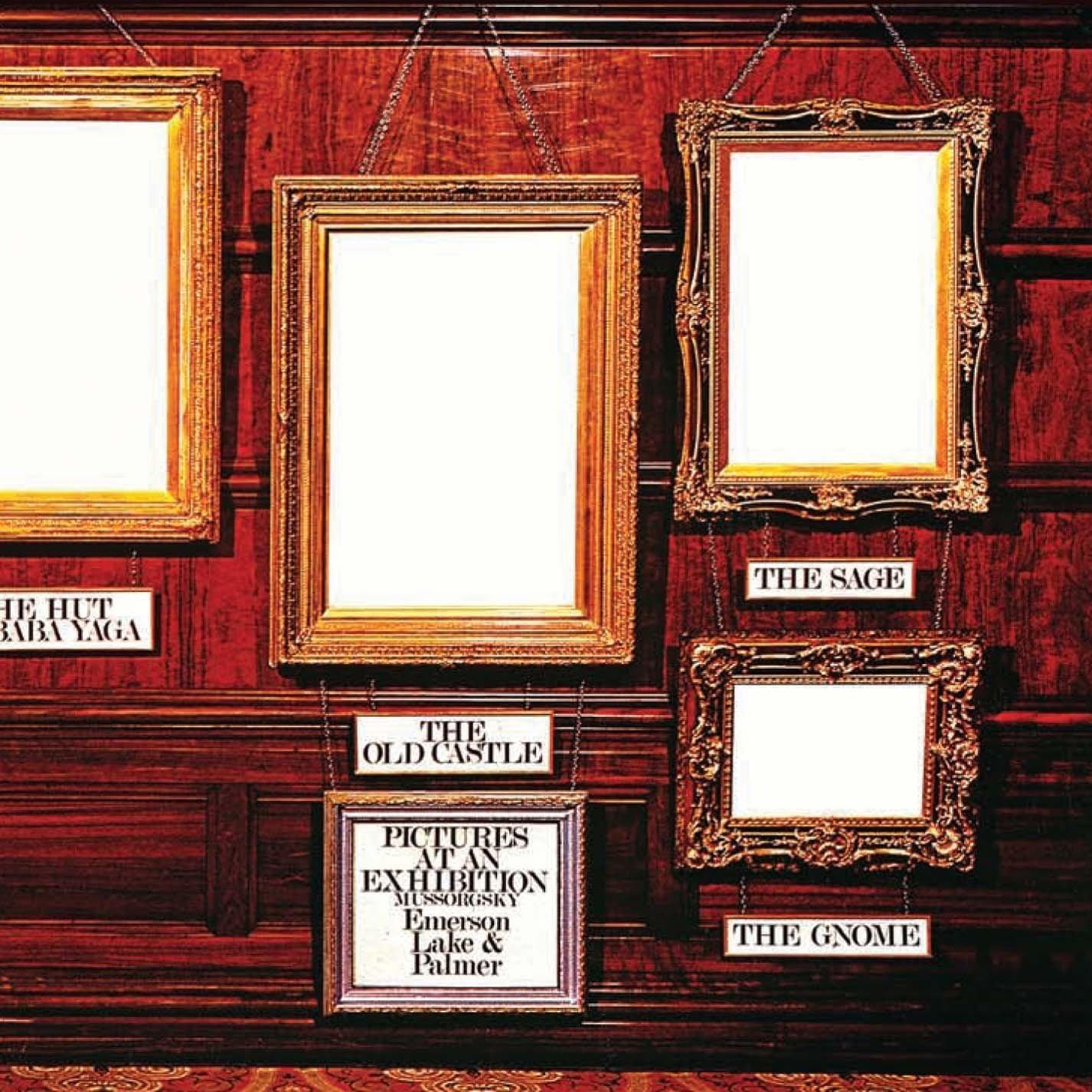 Copertina Disco Vinile 33 giri Pictures at an Exhibition di Emerson, Lake & Palmer