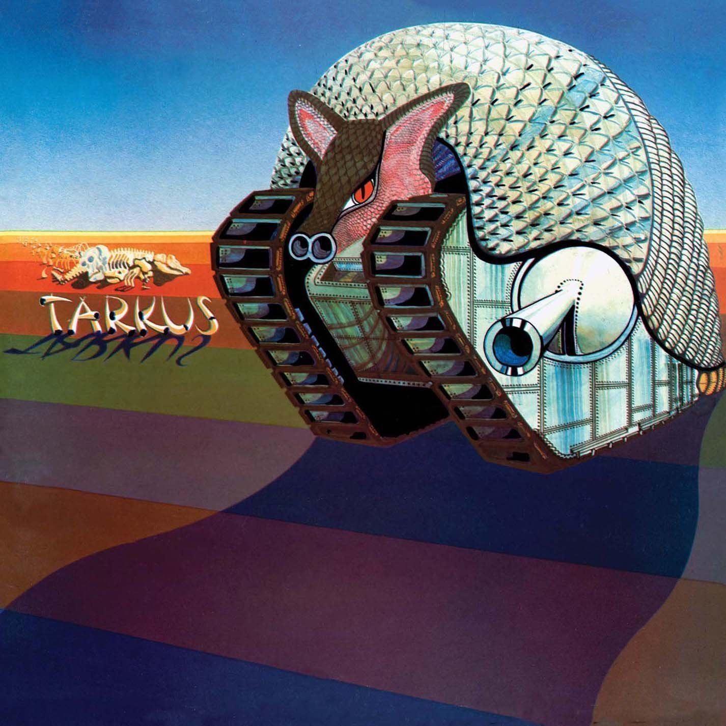Copertina Disco Vinile 33 giri Tarkus di Emerson, Lake & Palmer